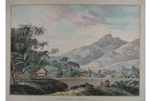 Thomas Daniell  (Chertsey, 1775-Sri Lanka, 1811) Near Eucheconing on the island of Java