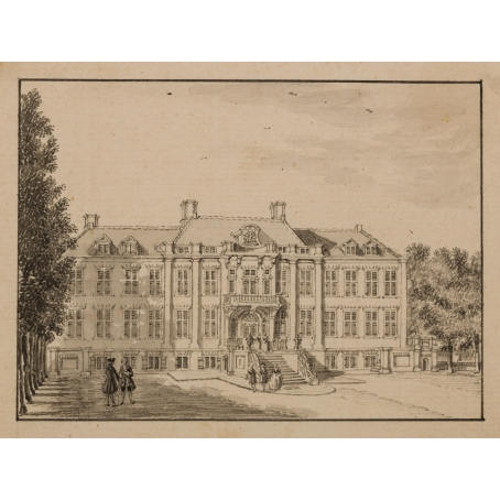 Jan de Beijer (Aarau, 1703-Kleef, 1780) Royal palace Soestdijk (1749)